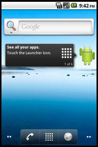 Android Home Page